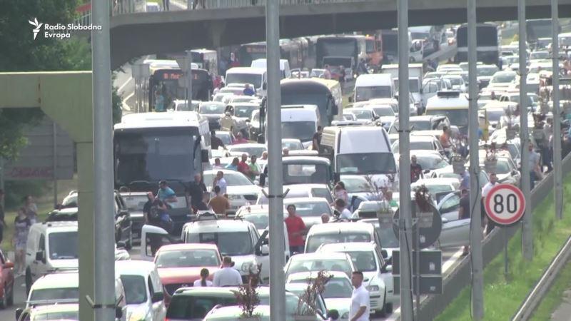 protesti zbog cene goriva u beogradu